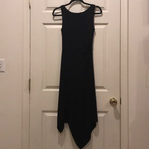 WHBM Long Black Dress